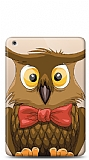 Apple iPad Air Mr Owl Resimli Kılıf