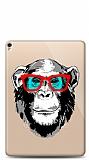Apple iPad Pro 10.5 Hipster Monkey Resimli Kılıf