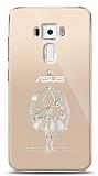 Asus ZenFone 3 ZE552KL Balerin Taşlı Kılıf