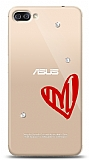 Asus Zenfone 4 Max ZC554KL 3 Taş Love Kılıf