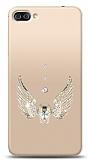 Asus Zenfone 4 Max ZC554KL Angel Death Taşlı Kılıf