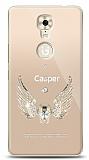 Casper Via A1 Plus Angel Death Taşlı Kılıf