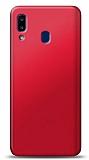Casper Via E3 Kırmızı Mat Silikon Kılıf