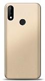Casper Via S Gold Mat Silikon Kılıf