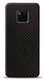 Dafoni Huawei Mate 20 Pro Karbon Görünümlü Telefon Kaplama
