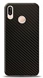 Dafoni Huawei P20 Lite Karbon Görünümlü Telefon Kaplama