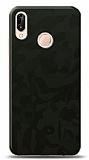 Dafoni Huawei P20 Lite Yeşil Kamuflaj Telefon Kaplama
