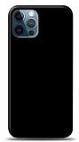 Dafoni iPhone 12 / iPhone 12 Pro 6.1 inç Mat SiyahTelefon Kaplama