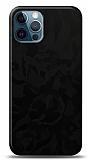 Dafoni iPhone 12 / iPhone 12 Pro 6.1 inç Siyah Kamuflaj Telefon Kaplama