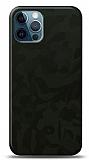 Dafoni iPhone 12 / iPhone 12 Pro 6.1 inç Yeşil Kamuflaj Telefon Kaplama