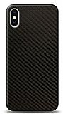 Dafoni iPhone X / XS Karbon Görünümlü Telefon Kaplama
