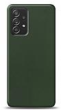 Dafoni Samsung Galaxy A52 Mat Yeşil Telefon Kaplama