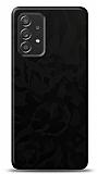 Dafoni Samsung Galaxy A52 Siyah Kamuflaj Telefon Kaplama