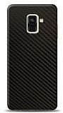 Dafoni Samsung Galaxy A6 2018 Karbon Görünümlü Telefon Kaplama