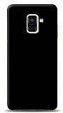 Dafoni Samsung Galaxy A6 2018 Mat SiyahTelefon Kaplama