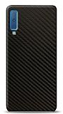 Dafoni Samsung Galaxy A7 2018 Karbon Görünümlü Telefon Kaplama