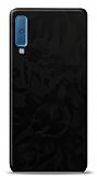 Dafoni Samsung Galaxy A7 2018 Siyah Kamuflaj Telefon Kaplama