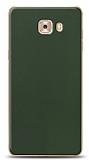 Dafoni Samsung Galaxy C9 Pro Mat Yeşil Telefon Kaplama