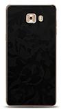 Dafoni Samsung Galaxy C9 Pro Siyah Kamuflaj Telefon Kaplama