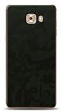 Dafoni Samsung Galaxy C9 Pro Yeşil Kamuflaj Telefon Kaplama