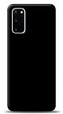 Dafoni Samsung Galaxy S20 Mat SiyahTelefon Kaplama