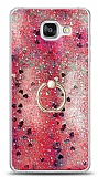 Eiroo Bright Samsung Galaxy A5 2016 Sulu Simli Kırmızı Silikon Kılıf