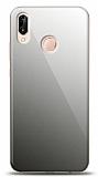 Eiroo Huawei P20 Lite Silikon Kenarlı Aynalı Siyah Kılıf