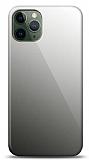 Eiroo iPhone 11 Pro Max Silikon Kenarlı Aynalı Siyah Kılıf