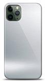 Eiroo iPhone 11 Pro Silikon Kenarlı Aynalı Silver Kılıf