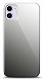 Eiroo iPhone 11 Silikon Kenarlı Aynalı Siyah Kılıf