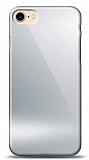 Eiroo iPhone 7 / 8 Silikon Kenarlı Aynalı Silver Kılıf