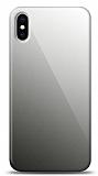 Eiroo iPhone X / XS Silikon Kenarlı Aynalı Siyah Kılıf