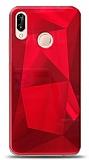 Eiroo Prizma Huawei P20 Lite Kırmızı Rubber Kılıf