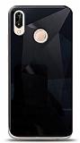 Eiroo Prizma Huawei P20 Lite Siyah Rubber Kılıf