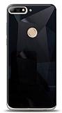 Eiroo Prizma Huawei Y7 2018 Siyah Rubber Kılıf