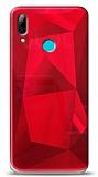 Eiroo Prizma Huawei Y7 2019 Kırmızı Rubber Kılıf