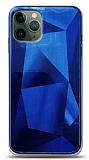 Eiroo Prizma iPhone 11 Pro Mavi Rubber Kılıf