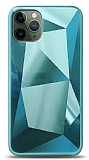 Eiroo Prizma iPhone 11 Pro Turkuaz Rubber Kılıf