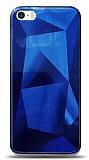 Eiroo Prizma iPhone SE / 5 / 5S Mavi Rubber Kılıf