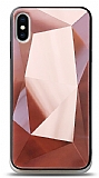 Eiroo Prizma iPhone X / XS Rose Gold Rubber Kılıf