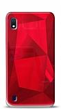 Eiroo Prizma Samsung Galaxy A10 Kırmızı Rubber Kılıf