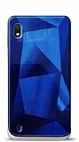 Eiroo Prizma Samsung Galaxy A10 Mavi Rubber Kılıf