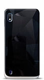 Eiroo Prizma Samsung Galaxy A10 Siyah Rubber Kılıf