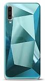 Eiroo Prizma Samsung Galaxy A50 Turkuaz Rubber Kılıf