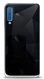 Eiroo Prizma Samsung Galaxy A7 2018 Siyah Rubber Kılıf