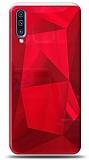 Eiroo Prizma Samsung Galaxy A70 Kırmızı Rubber Kılıf