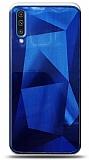 Eiroo Prizma Samsung Galaxy A70 Mavi Rubber Kılıf