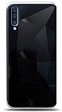 Eiroo Prizma Samsung Galaxy A70 Siyah Rubber Kılıf
