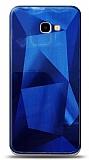 Eiroo Prizma Samsung Galaxy J4 Plus Mavi Rubber Kılıf