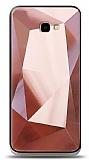 Eiroo Prizma Samsung Galaxy J4 Plus Rose Gold Rubber Kılıf